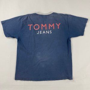 vintage 90s Tommy Jeans tee fits men's XL in good